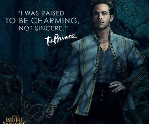 chris pine, into the woods, and prince image