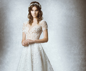 wedding dress and Zuhair Murad image