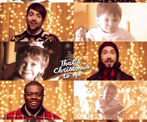 christmas, music, and pentatonix image
