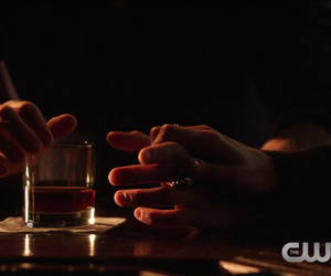 hands, the vampire diaries, and delena image