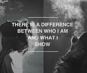 quotes, wolf, and difference image