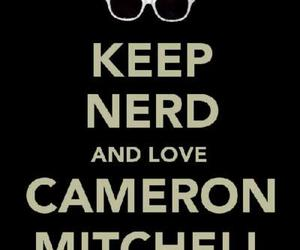 cameron mitchell and nerd image