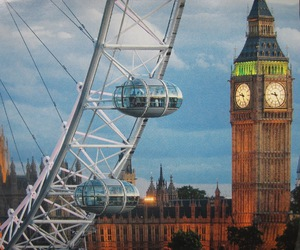 london, london eye, and perfect image