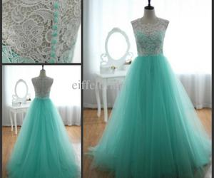 dress, lace, and tulle image