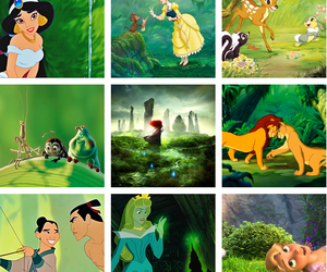 disney and green image