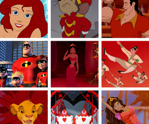 disney and red image