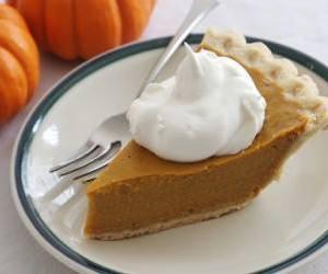 food, pie, and pumpkin image
