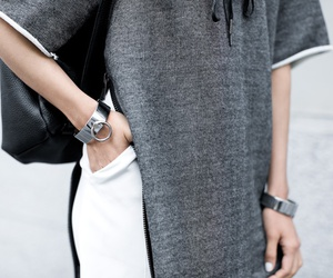 fashion, grey, and style image