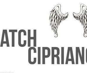 hush hush, angel, and patch cipriano image