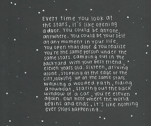 stars, quotes, and text image
