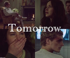 book, the hunger games, and tomorrow image