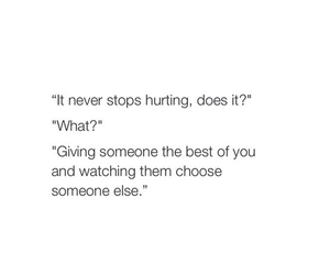 text, hurt, and quote image