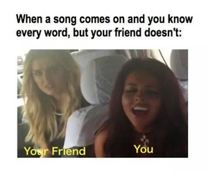 funny, friends, and little mix image