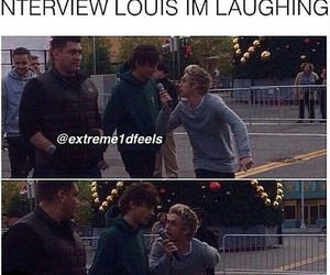 interview, louis, and 1d image