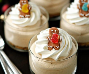 christmas, food, and gingerbread image