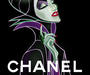 chanel, wallpaper, and maleficent image