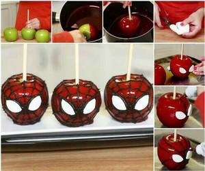 apple, diy, and fruta image