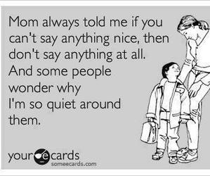 quotes, quiet, and mom image