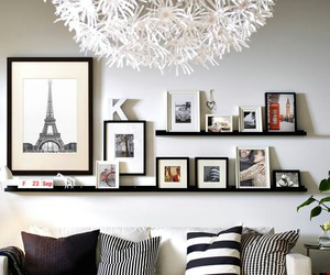 frames, living room, and design image
