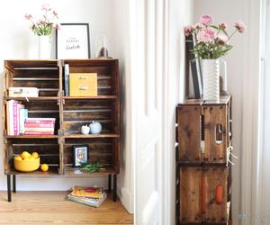 box, diy, and room image