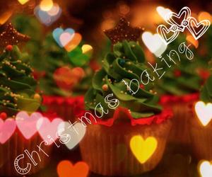 baking, christmas, and christmas tree image