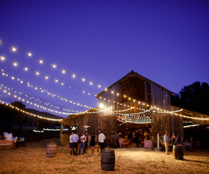 barn, night, and party image