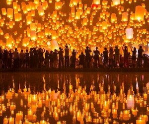 lanterns, lights, and memory image