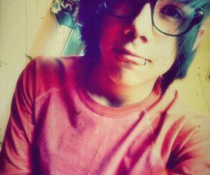 black hair, tumblr boy, and boy with glasses image