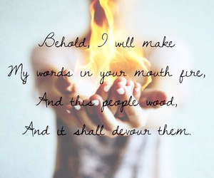 bible, fire, and Relationship image