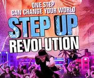movies and step up revolution image