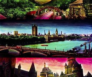hogwarts and magic image