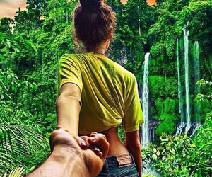 couple and nature image