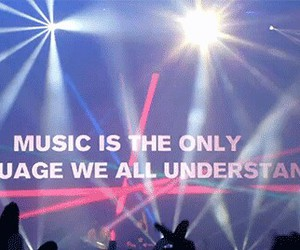 concert, PLUR, and quote image