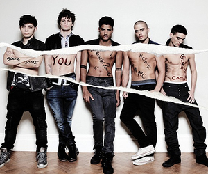 the wanted, nathan sykes, and tom parker image