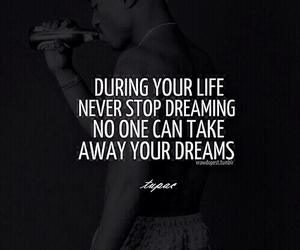 2pac, dreams, and no one image