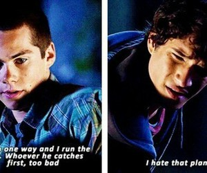 teen wolf and quote image