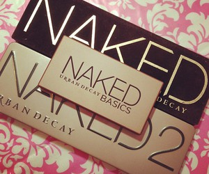 naked, make up, and eyeshadow image