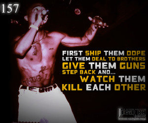2pac, design, and 2pac quotes image