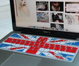 britain, laptop, and london image