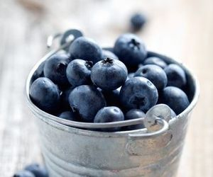 background, berry, and blueberries image