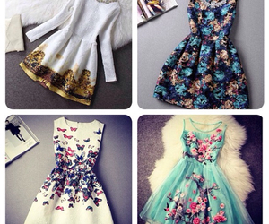 beautiful, chic, and dresses image