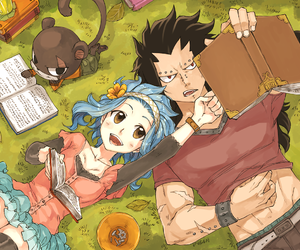 fairy tail, gajeel, and gale image