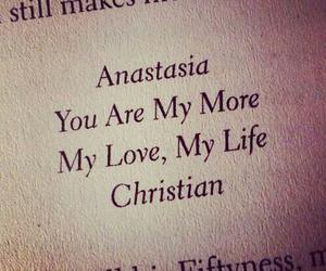 love, anastasia, and book image