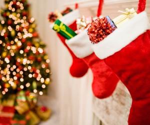 christmas, winter, and light image