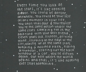 quote, stars, and life image