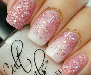 cosmetics, nail polish, and nails image