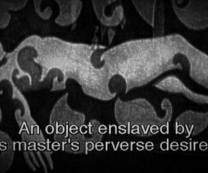 Enslaved, object, and perverse image