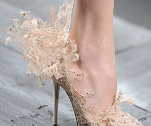 shoes, lace, and heels image
