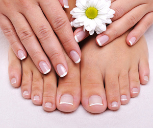 nails and feet image