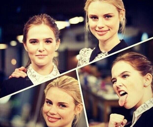 zoey deutch and lucy fry image